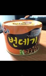 🚚 有東 蠶蛹罐頭 辣味130g