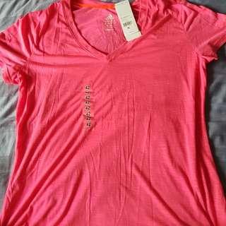 Adidas pink xl climalite top