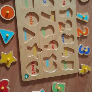 Wooden Puzzles from ELC MOTHERCARE