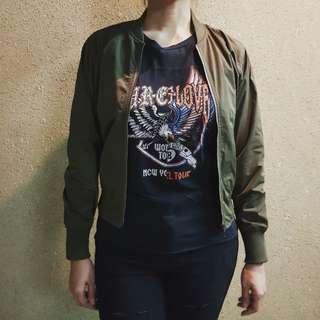 GU by Uniqlo lightweight bomber jacket