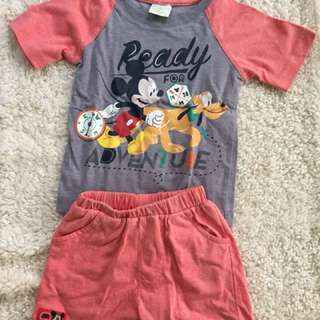 Unisex Mickey Mouse pair