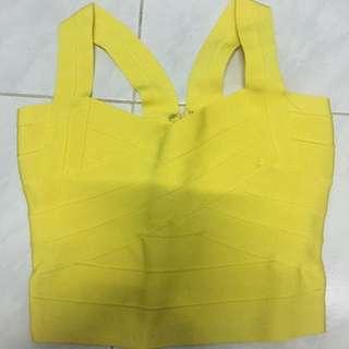 Bandage yellow top
