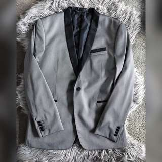 Silver Evening Suit Jacket