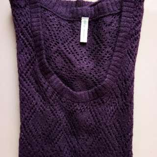ê.a.p wool purple shirt