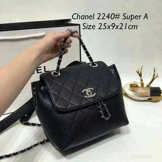 Chanel Backpack Black Color
