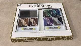 (NEW) ELF 36 Eyeshadow Palette + 2 eye applicator LENGKAP 36 warna!