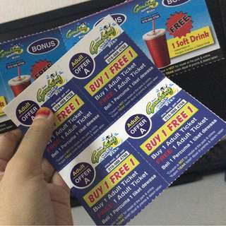GAMBANG WATERPARK VOUCHER / COUPON