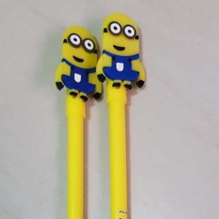 One Set of cute black link pen to sell