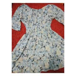 Dress sabrina flower