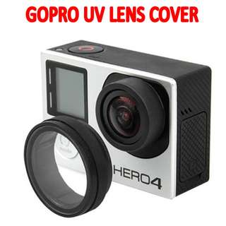 TGP057 UV Transparent Protective Optical Lens Cover for GoPro Hero 4 3+ 3