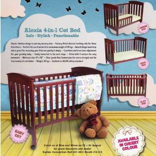 Baby Cot 4-in-1