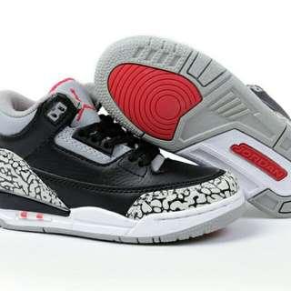 Nike air jordan black cement
