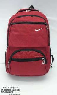 Nike backpack size : 17 inches