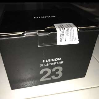 BNIB Fujifilm 23mm f1.4 (Customer Order Arrived)
