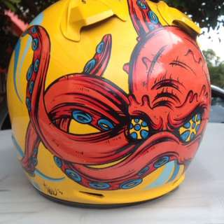 Shoei Jforce 2 Yellow
