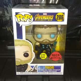 [PRE-ORDER] [PURCHASE WITH A PURCHASE] Avengers Thor Glow in the Dark Funko Pop Asia Exclusive