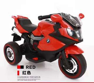 Red BMW YX Rechargeable Ride On Toy Motorcycle Big Bike