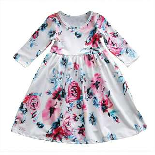floral maxi for kids
