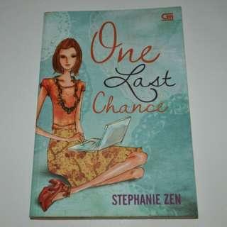 Novel One Last Chance - Stephanie Zen