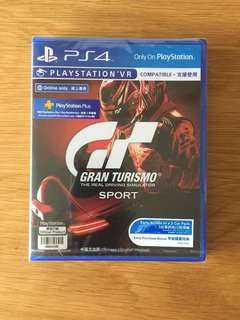 Grand Turismo PS4 PSVR + unused redemption