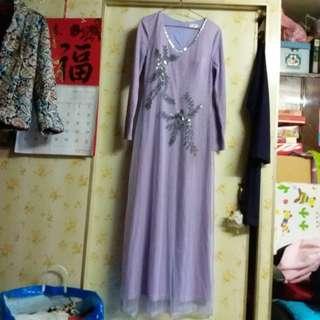 全新奶奶晚宴長裙