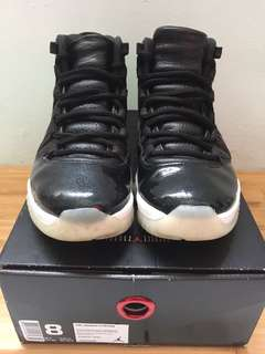 Jordan 11 72-10 us8