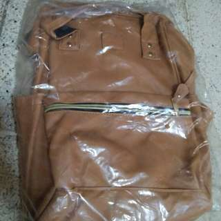 Anello bagpack leather large-replica