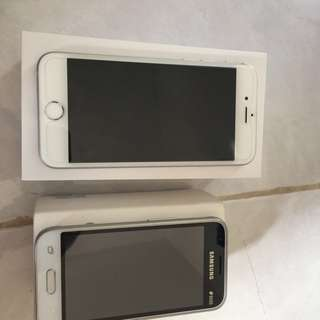 Iphone 6S 16gb + Samsung J1 mini
