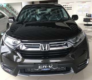 All new honda crv turbo