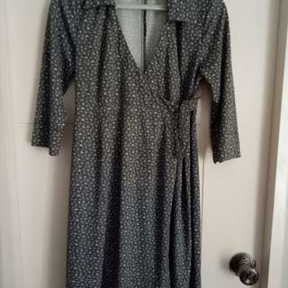 Imported Maternity Dress/ Small