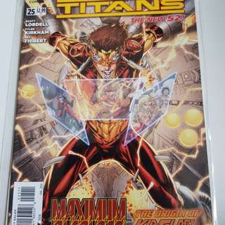 Teen Titans #25