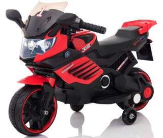 Red Mini S-11 Rechargeable Ride On Motorcycle