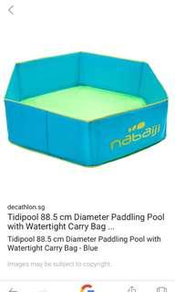 Nabaji Baby foldable swimming pool