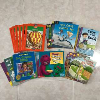 Many books for 1 to 6 years