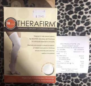 Compression Sock for Confinement