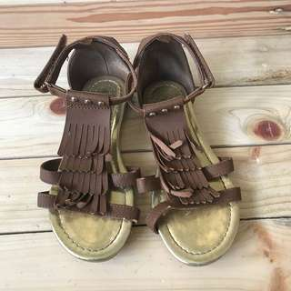 H&M brown sandals