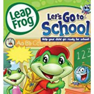Brand new Leap frog dvd - lets go to school