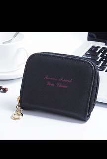 Coin purse with card holder