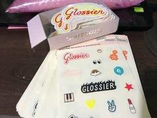 Glossier Sticker