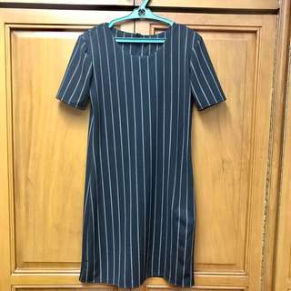 Free Size Striped Dress (Never Worn)