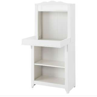 IKEA Hensvik baby changing table and shelves