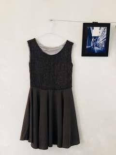 深駝色簡約氣質洋裝