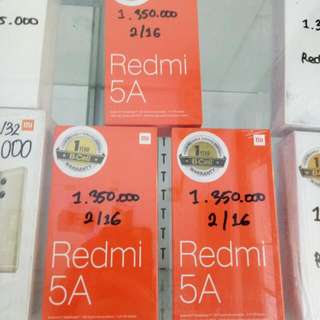 Xiaomi Redmi 5A...open kredit