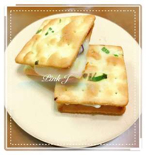 💰100元 🧀原味 蔥香QQ牛軋餅🧀(12入/1袋/單包裝)🉑️免運費