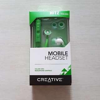 CREATIVE Hitz MA350 earphones