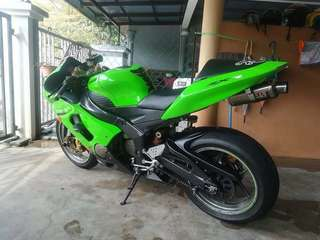 2007 Zx6r 636 Sing bike 🇸🇬 w Yoshimura Exhaust. Condition Still Good ✔️ Cash Only: RM 14k