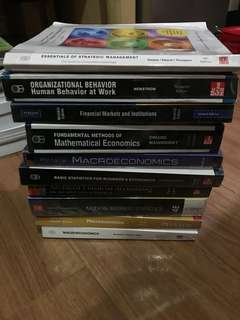 Selling these books.