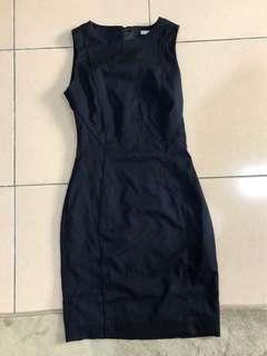 H&M超質感顯瘦OL洋裝