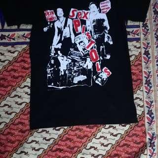 Sex Pistol vintage tshirt copyright © 1996