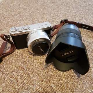 Panasonic Lumix DMC-GM1K with 2 Lens